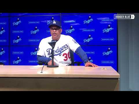 Dodgers manager Dave Roberts credits Alex Verdugo for earning more playing time