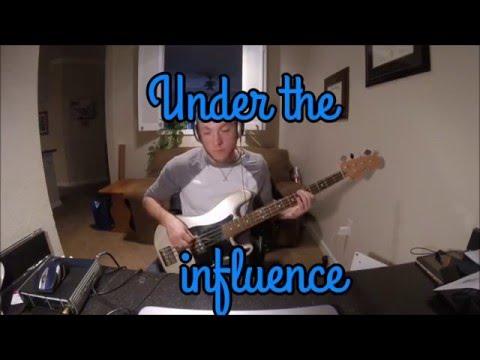 Elle King - Under the Influence (Bass Cover w/ Lyrics)