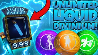 UNLIMITED LIQUID DIVINIUM GLITCH! (1,000+ PER HOUR!) BLACK OPS 3 ZOMBIES GLITCH!
