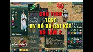 Chủ Tịch mang set đồ Khủng Nhất Võ Lâm 2 vào Troll Game thủ và cái kết đắng - Võ Lâm Truyền Kỳ 2