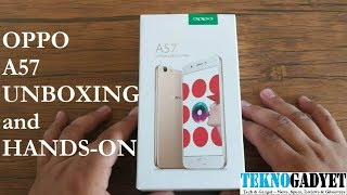 OPPO A57 Unboxing and Hands-on
