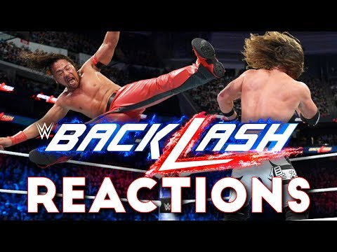 WWE Backlash 2018 Reactions