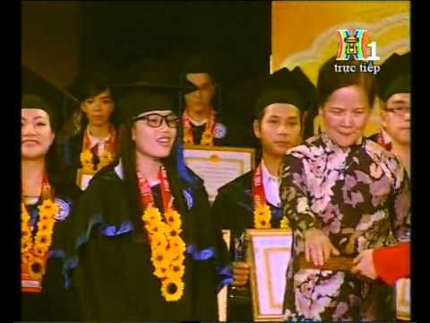 Lễ tuyên dương thủ khoa xuất sắc tốt nghiệp các trường ĐH,HV trên địa bàn TP Hà nội năm 2014