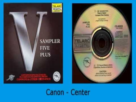 Sound Effects: Explosions, Gunfire and Cannons from Telarc Sampler Five Plus
