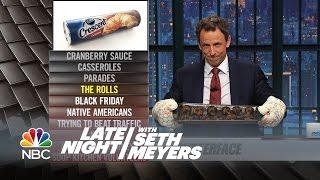 Ya Burnt: Black Friday, Naps, Native Americans - Late Night with Seth Meyers