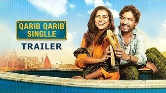 Qarib Qarib Singlle - Official Trailer   Irrfan Khan   Parvathy   Neha Dhupia   Hindi Movie
