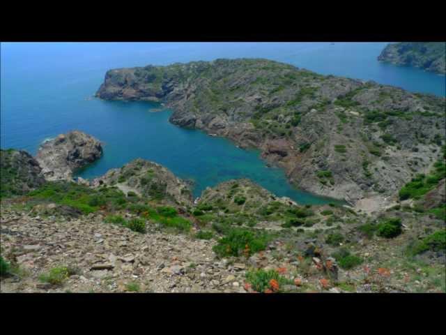 Cadaqués, Cap de Creus (Cabo de Creus) y Portlligat - Ruta por la costa brava. GR11