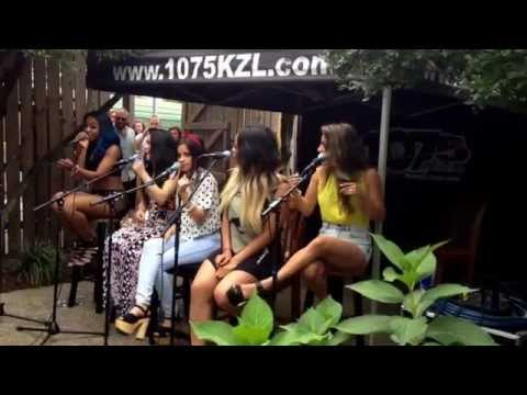 Fifth Harmony - Bo$$ - 1075 KZL radio 8/29