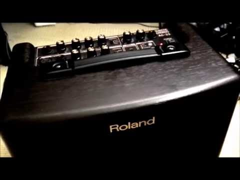 roland ac 33 battery powered amp demo review youtube. Black Bedroom Furniture Sets. Home Design Ideas