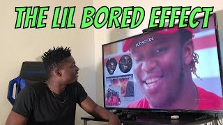 KSI Reacting To Lil Bored's Edits Of Me (REACTION)