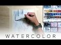 WATERCOLOR TUTORIAL // BIC Design on Fire