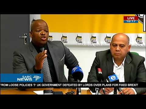 ANC Western Cape reacts to De Lille's axing