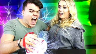 PAINFUL LIE DETECTOR TEST WITH GIRLFRIEND thumbnail