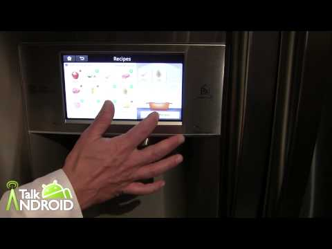 Hands On With the LG Smart Refrigerator