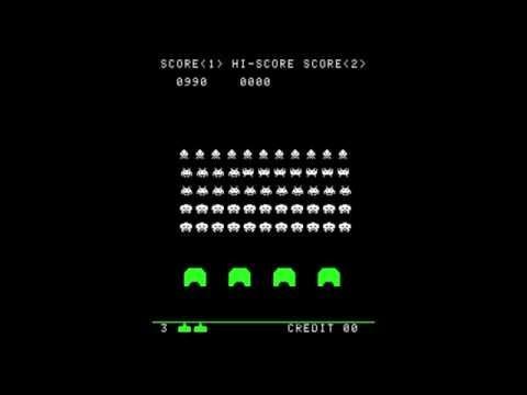 Space Invaders 1978 - Arcade Gameplay
