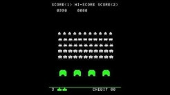 Space Invaders 1978 - Arcade Gameplay