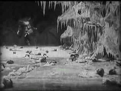 L'Inferno (1911) Satan eating human