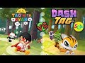 RYAN vs PETS: TAG WITH RYAN vs DASH TAG - Ryan ToysReview 2019 iPhone Game by Wildworks SGL Gameplay