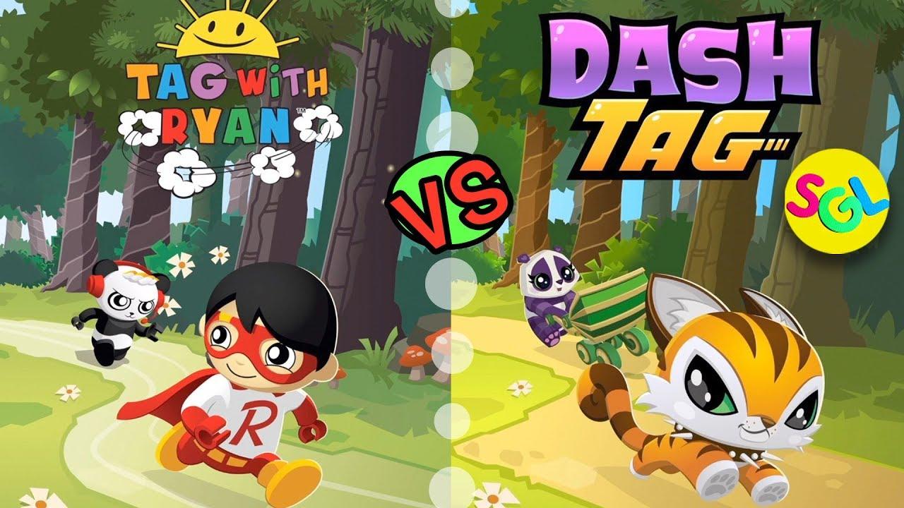 RYAN vs PETS TAG WITH RYAN vs DASH TAG Ryan ToysReview iPhone