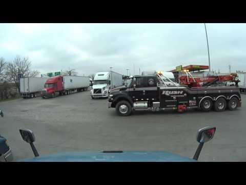 2984 time-lapse of truckers