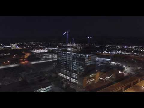 Liberty Mutual Towers in Plano Construction Update (Aerial Drone Footage)