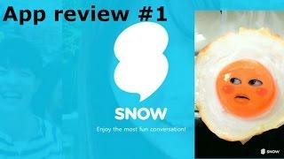 App review #1: SNOW