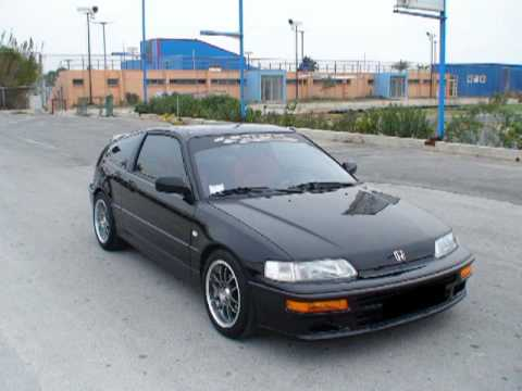 honda crx vtec by hondakidesss crew youtube. Black Bedroom Furniture Sets. Home Design Ideas