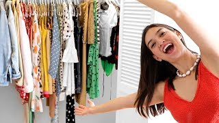 CLOSET REFRESH - Organizing and Clearing Out My Summer Wardrobe!!!