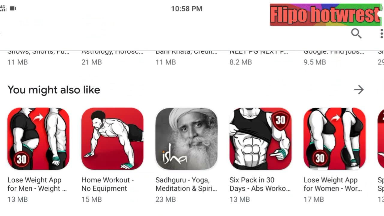 Health and fitness application