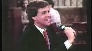 Comedy   1986   NBC Sports Commentator Bob Costas Visits Ex Red Sox P Sam Malone At CHEERS Bar Prior