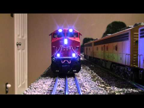 Modelling Railroad Train Scenery -Tremendous Planning For Testng  Lionel Vision Line Canadian Pacific ES44AC Hybrid Locomotive