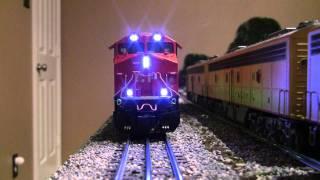 Test  Drive Lionel Vision Line Canadian Pacific ES44AC Hybrid Locomotive