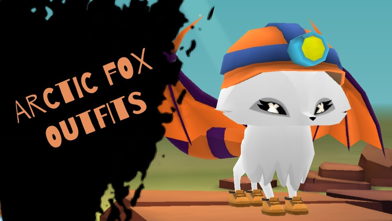 Arctic Fox Random Outfit Ideas Animal Jam Play Wild Youtube