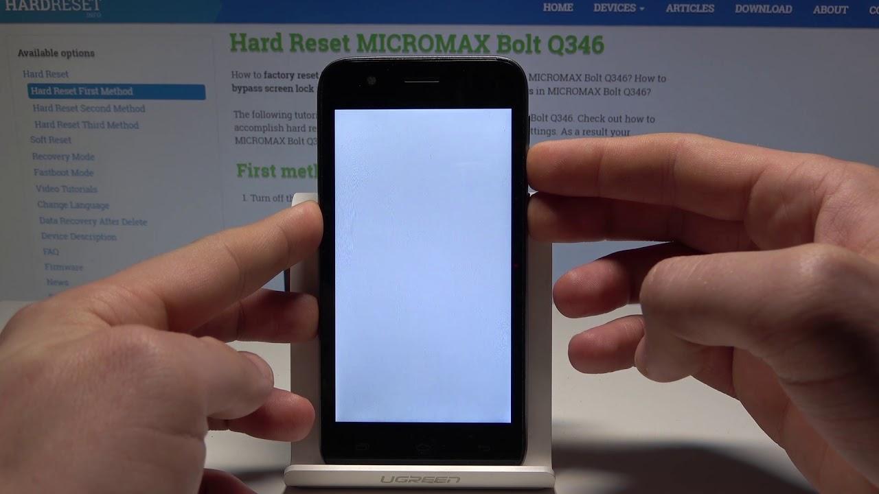 Micromax Bolt Q324 Screenshot Videos - Waoweo