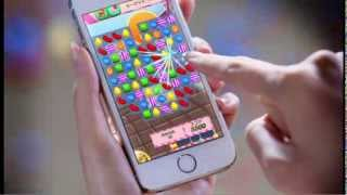 Candy Crush Saga - Raining Candy!
