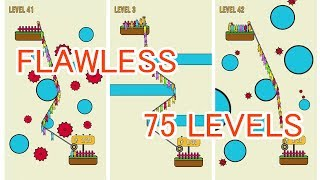 Rope Rescue - Flawless 75 Levels - Gameplay