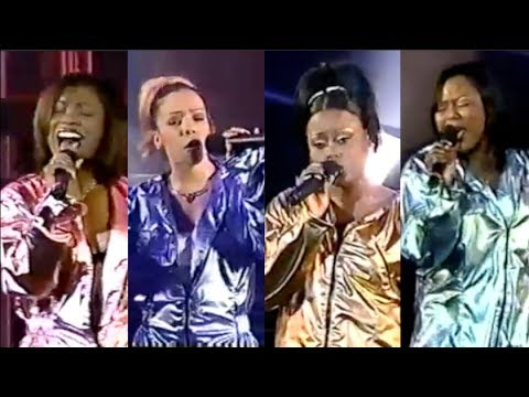 Xscape (Kandi, Tiny, Latocha, and Tamika) amazing vocals! | BET SPECIAL 1998