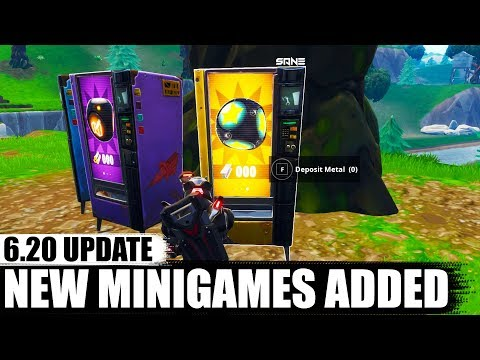 PORT-A CHALLENGES MINI GAMES ADDED TO PLAYGROUNDS   Fortnite