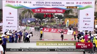 CNN: Kenyan, Ethiopian Runners Dominate The 2016 Hainan Marathon In China የኢትዮጵያ እና የኬንያ ሯጮች በ2008 በ