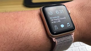 Apple Watch Series 3 (Gold 42mm w/ Pink Sand Sport Loop) Unboxing