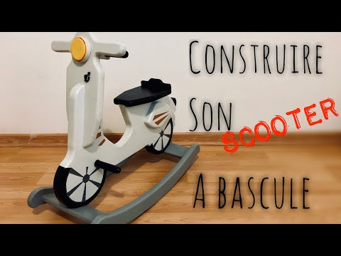 Fabriquer un scooter à bascule (DIY build a child's rocking horse)
