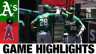 Ramón Laureano's defense fuels A's win | A's-Angels Game Highlights 8/12/20