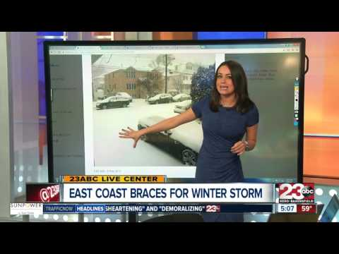 Winter storm hits the Northeast