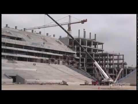 Video: 2014 World Cup Brazil Soccer Stadium Construction