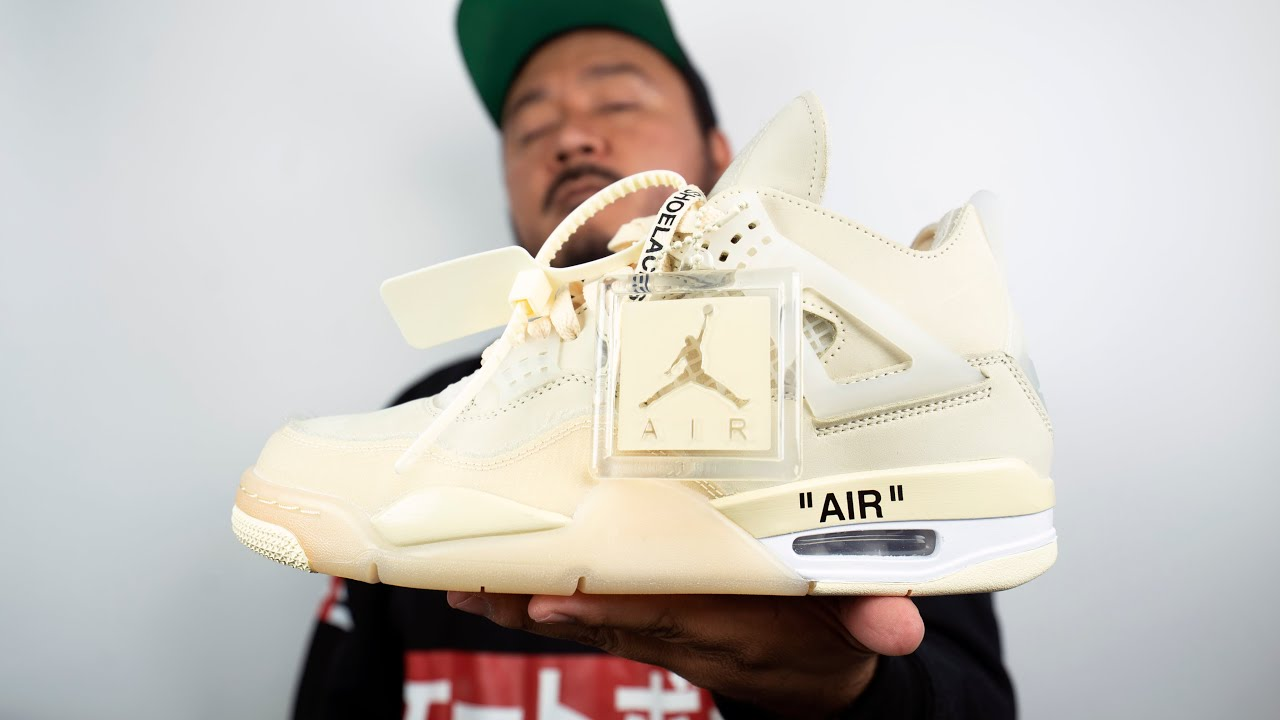 Entre el Streetwear y el High Fashion: Jordan IV x Off White