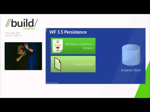 Building event driven, long running apps with Windows workflow