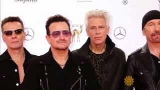 U2 on their brand new tour