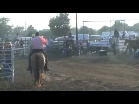 Navasota Roping 6 8 09 Hallie 2nd Round