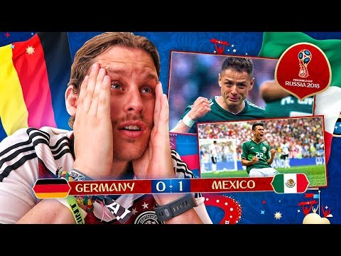 REACTING TO GERMANY V MEXICO 2018 WORLD CUP