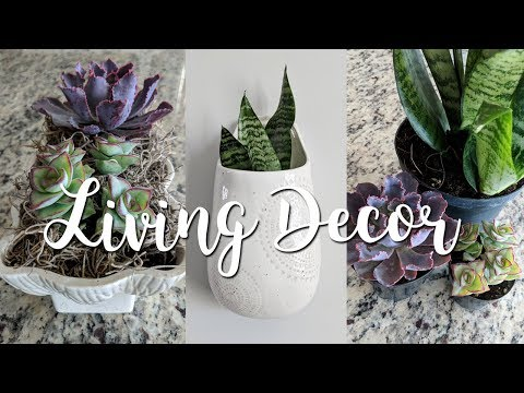 Living Home Decor-Mixing Thrifted & New Decor +Marshall's & Home Depot Haul!